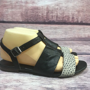 Madewell The Danny Leather Sandals womens size 8